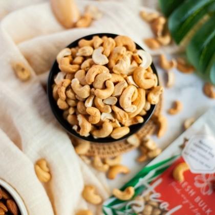 Fresh Bulk Lightly Salted Roasted Cashew Nut (500g)