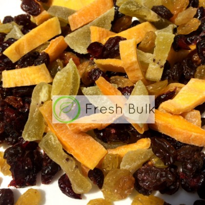 Fresh Bulk Dried Fruits Mix (200g) / fruits trail mix