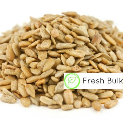 Fresh Bulk Roasted Sunflower Kernel (500g) / lightly salted