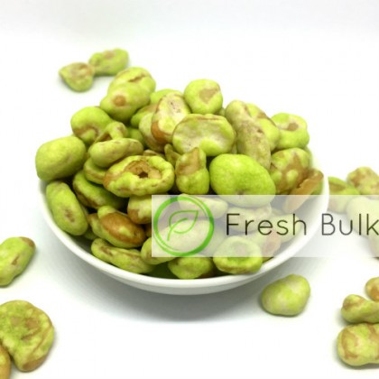 Fresh Bulk Wasabi Coated Broad Bean (180g)