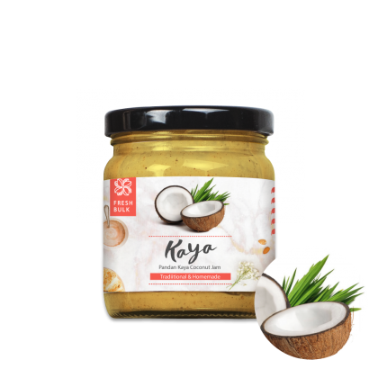Fresh Bulk 100% Natural Pandan Kaya Coconut Jam
