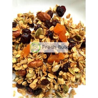 Fresh Bulk Almond Berries Granola 100g