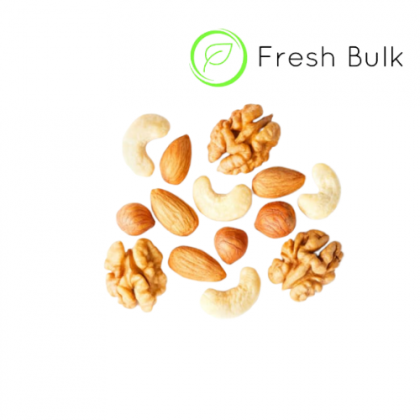 Fresh Bulk  5 in 1 Roasted Nuts Starter Bundle / almond / cashew