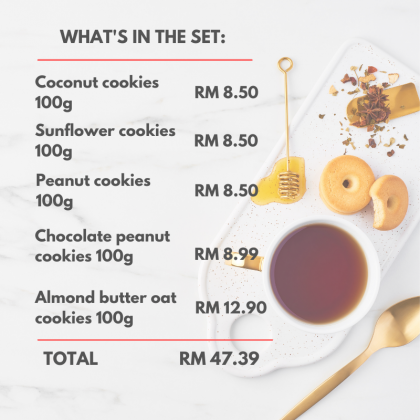 Fresh Bulk High 5 Cookies Bundle Set