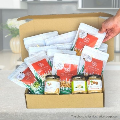 Deluxe Box Subscription  - 3 months subsciption / 27 snacks / RM133 per set / FREE delivery